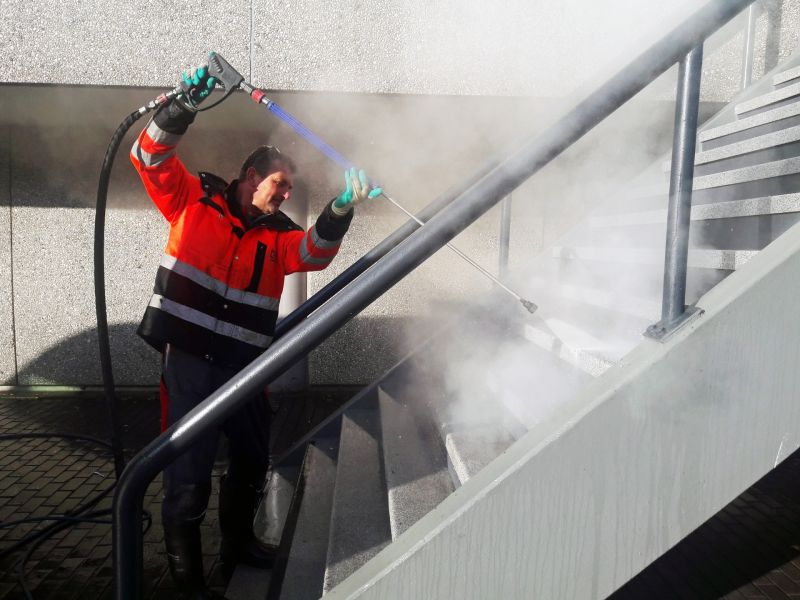 Commercial Pressure Washing by Cleanrite Commercial Cleaning Inc
