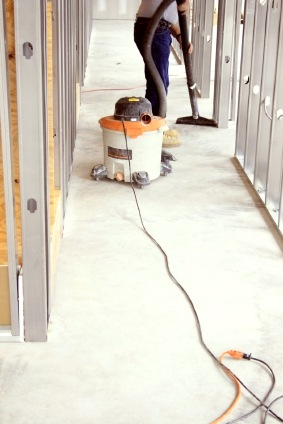 Construction cleaning by Cleanrite Commercial Cleaning Inc